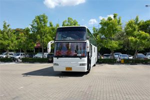 Bus rent around Thailand