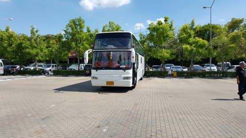Bus Rental around Thailand
