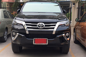 Taxi. Pattaya. Bangkok. Rent a car with driver. Transfer. Type 3. SUV Toyota Fortuner. Transfer from bangkok to samui