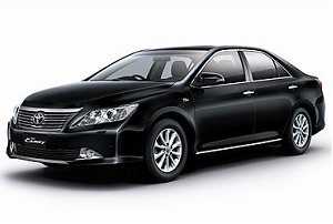 Taxi in Thailand. Rent a car in Thailand. Type 1. Toyota Camry